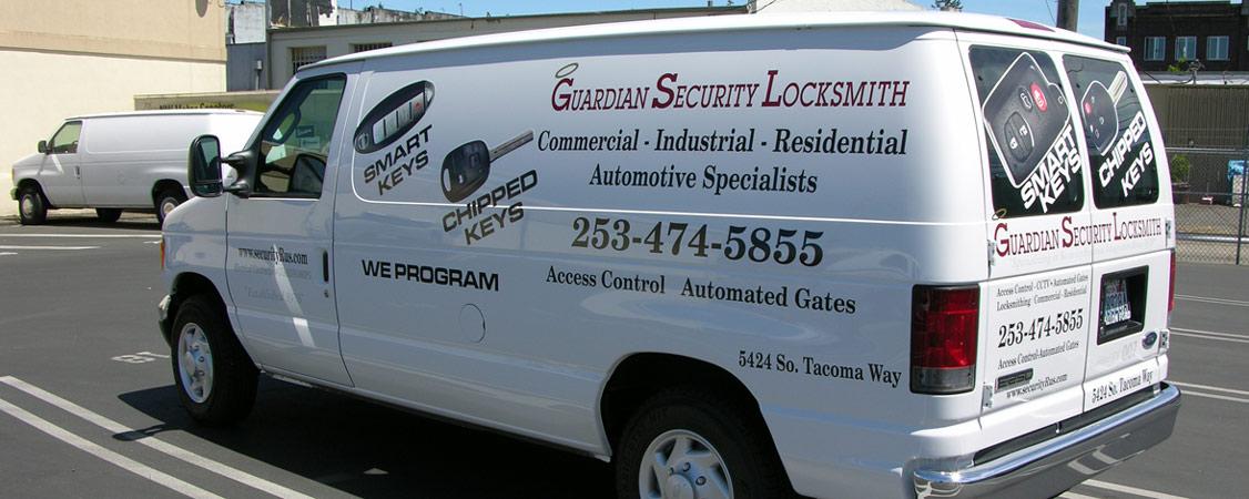 Locksmith Tacoma Guardian Security Group Inc